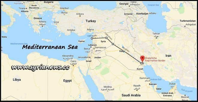 Iran to Reach the Mediterranean Through the Proposed Iran-Iraq-Syria