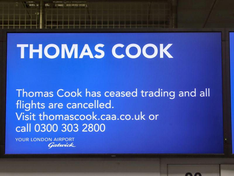 Thomas Cook Collapse: First Major Brexit Casualty?