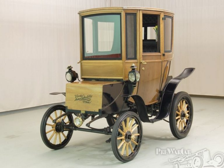Wood's Electric Car, 1905