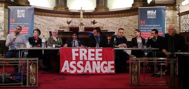 Hundreds Attend London Meeting to Demand Freedom for Julian Assange - Global Research