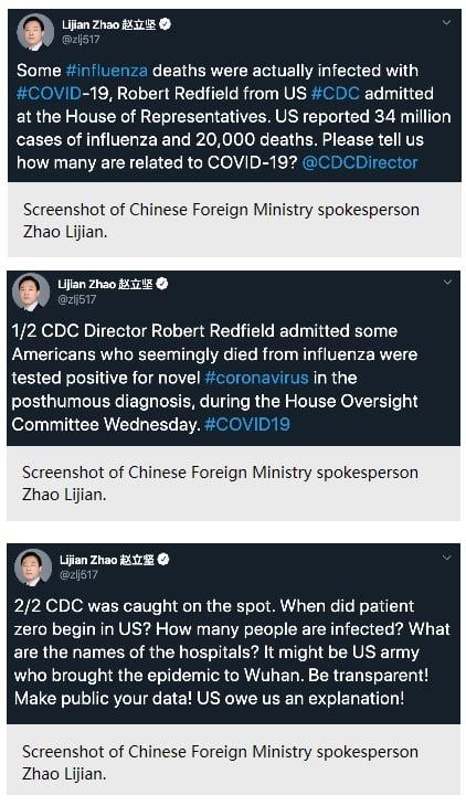"Coronavirus COVID-19: ""Made in China"" or ""Made in America""?"
