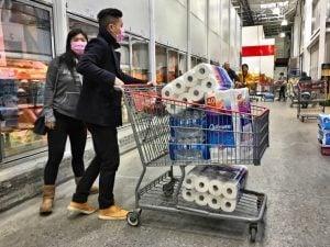 Corona shopping