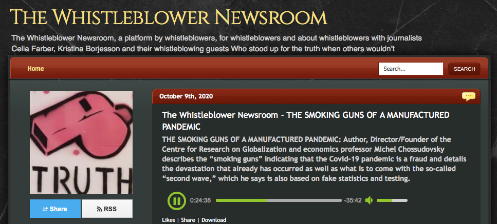 """Video: The """"Smoking Guns"""" of a Manufactured Pandemic"""