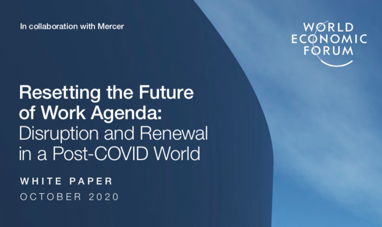 "The Post Covid World, The WEF's Diabolical Project: ""Resetting the Future  of Work Agenda"" – After ""The Great Reset"". A Horrifying Future - Global  Research"