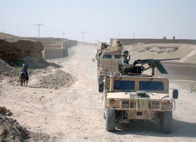 US-Truppen versuchen, von Afghanistan nach Zentralasien vorzudringen
