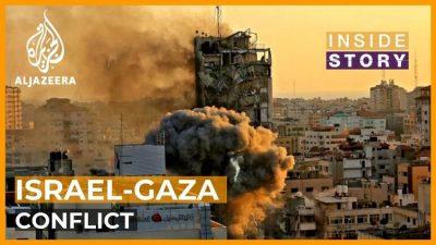 Israel bombardiert palästinensische Flüchtlinge aus Israel in Gaza, 50% davon Kinder