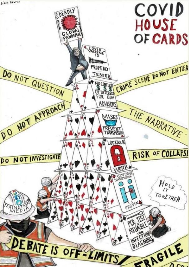 Covid's House of Cards set to collapse