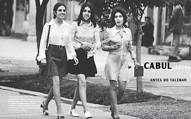 Women at university in Afghanistan in the late 1970s. (Amnesty International U.K.)