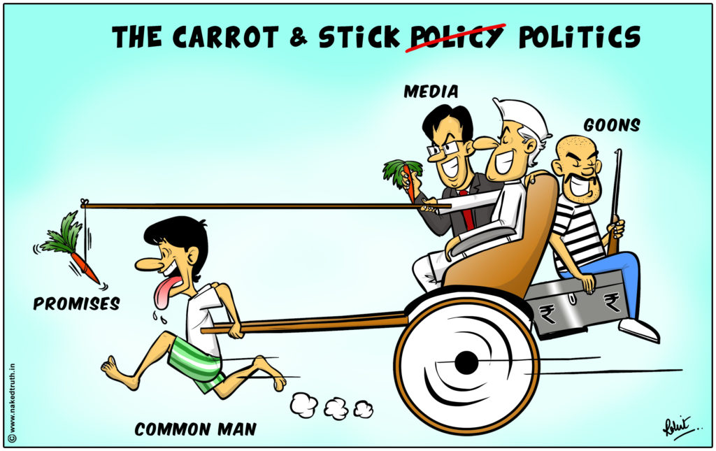 Image Countries Under the COVID Cosh. The Carrot and the Stick